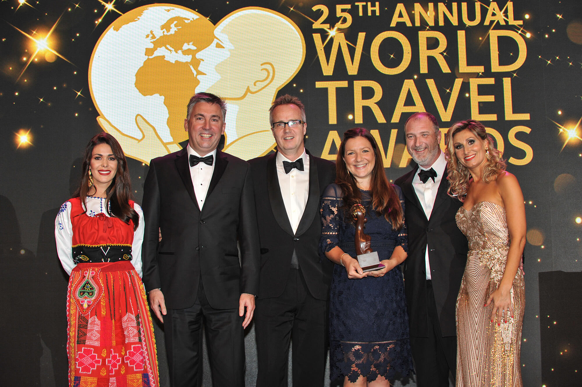 World Travel Awards winners hotel CRM