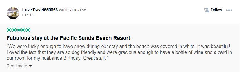 Pacific Sands TripAdvisor
